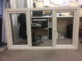 A white pvcu window in excellent condition, sells for £100.