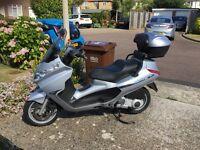 Piaggio x8 maxi scooter