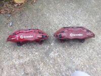 Brembo brake calipers came off Evo 8
