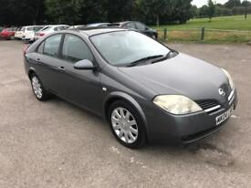 NISSAN PRIMERA 2004 1.8 SVE 5DR, FULL SERVICE HISTORY, TWO FORMER KEEPERS