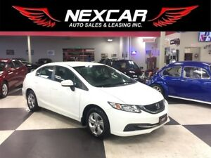 2015 Honda Civic LX AUT0 A/C CRUISE H/SEATS BLUE TOOTH 63K