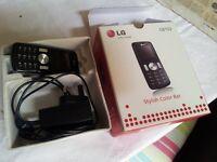 LG GB 102 MOBILE PHONE – WORKING AND UNLOCKED – SURPLUS