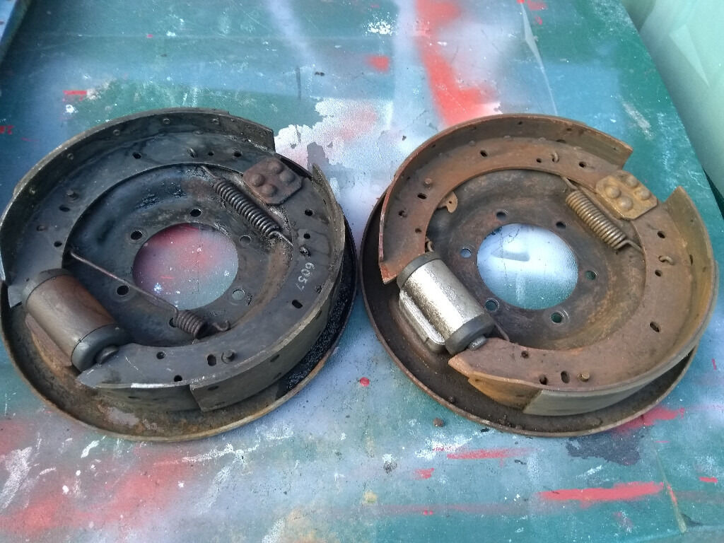 Land Rover Series 2 2a 3 Lwb 109 Quot Rear Brake Back Plates