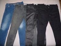 Womens Denim Jeans Size 16