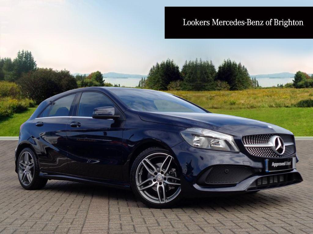 mercedes a class amg blue the image kid. Black Bedroom Furniture Sets. Home Design Ideas