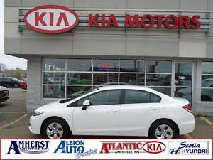2013 Honda Civic Sdn LX ONE OWNER/LOCAL TRADE
