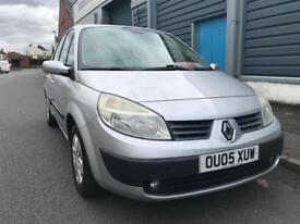 Renault scenic 1.6 vvt Expression 5dr mpv Service History 2 owner NEW 12 MONTH MOT