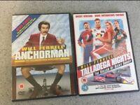 Will Ferrell DVD Film Bundle