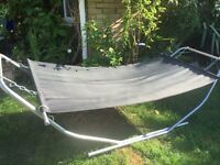 LARGE GARDEN HAMMOCK collection only BROOKWOOD