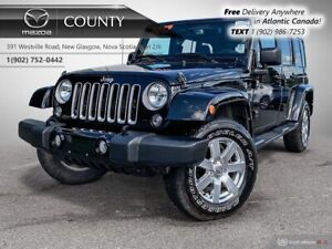 2017 Jeep Wrangler Unlimited $129/WK+TAX! SAHARA! AUTO! HARD+SOF
