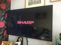 "Sharp Aquos 55"" tv"
