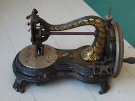 Unusal Antique Sewing Machine: Eclipse Hand. Serial No. 4965