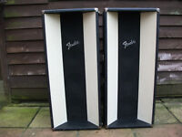 Vinatage Fender 1970s retro PA cabinets, Superb Condition, Bass or Guitar or PA