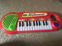 Kids electronic keyboard, battery operated, great for babies and toddlers sensory