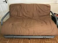 Double metal sofa bed
