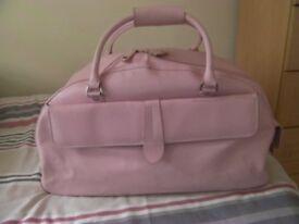 Ladies Pink Travel Bag