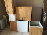 Free kitchen/utility room cupboards
