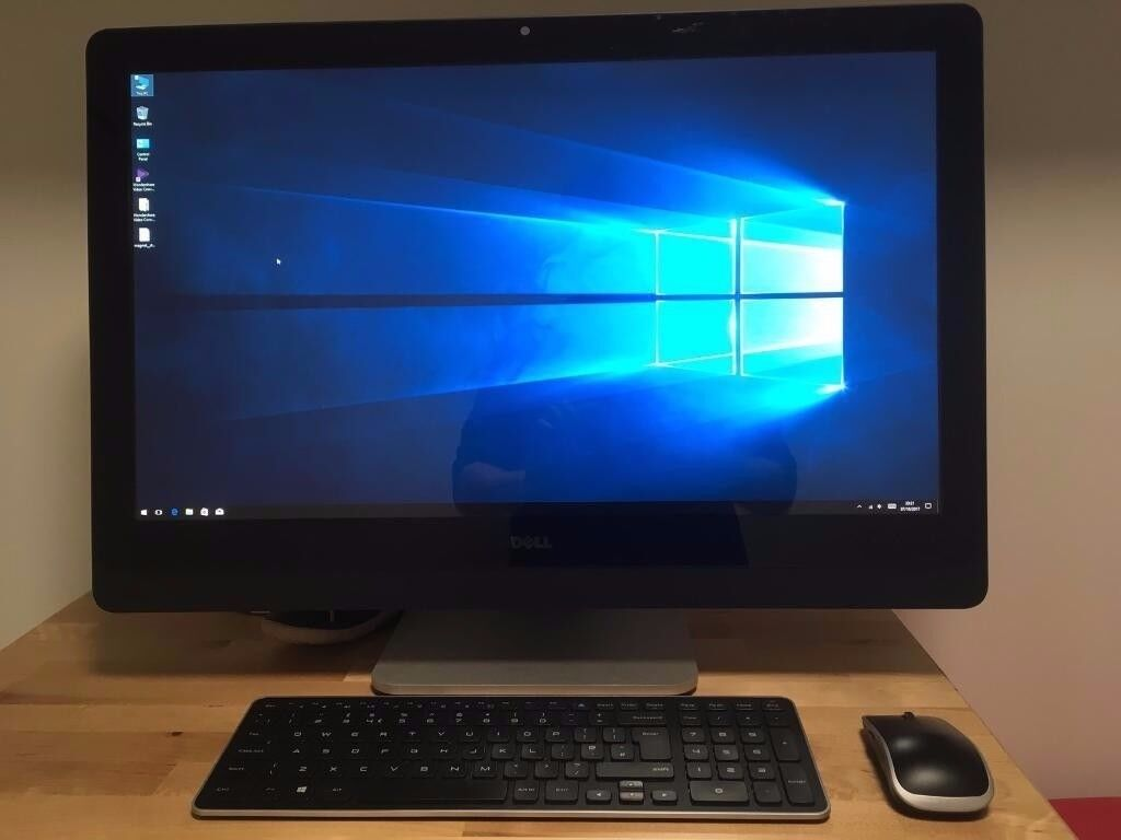 """Dell XPS 27"""" 2720 i7 quad CPU, 16gb ram, 2TB drive, Geforce 750M, 32GB SSD, Blu-ray, Win10"""