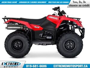 2018 Suzuki KingQuad 400FSi MANUAL 33,17$/SEMAINE