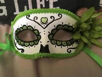 Green day of the dead mask