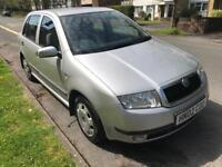 2002 Skoda Fabia 1.4 Comfort - 5 Door -Only 76,000 miles