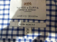 Hawes and Curtis Extra slim fit (16-34)