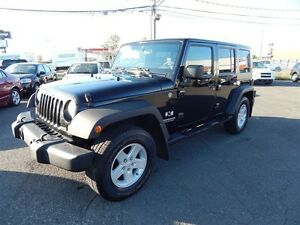 2007 Jeep Wrangler Unlimited X 2 TOITS