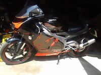 APRILIA RS 125 (2 STROKE), VERY LOW MILEAGE, VERY FAST FOR 125, GREAT LEARNER LEGAL,