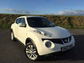 STUNNING NISSAN JUKE 1.5 DCI ACENTA PREMIUM 6 SPEED MANUAL 1 OWNER FROM NEW LOW MILEAGE!
