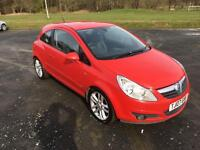 VAUXHALL CORSA 1.4•VERY LOW MILES•1 YEARS MOT•SERVICE HISTORY•HALF LEATHER