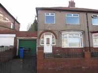 3 Bed Semi Detached House,Hadrian Road, Fenham, NE4 9QH