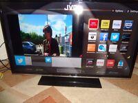 JVC 40 INCH BUILT IN WIFI SMART LED TV (LT-40C750)