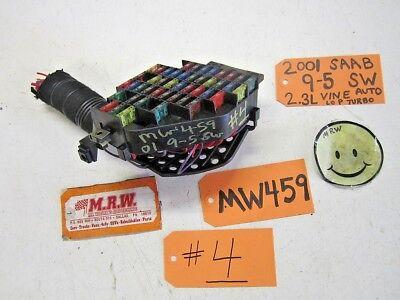 2001 saab 9-5 fuse box relay switch panel 2 3l turbo engine motor 4736930  2000, 2002-2003
