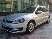 Volkswagen Golf 1.6 TDI BlueMotion Tech SE 5dr (start/stop) MK7 1 LADY OWNER FULL SERVICE P/X WELCO