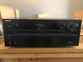 Onkyo TX-NR616 with IPod Dock