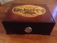 Cuban Cigar Box Humidifier Original
