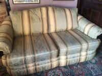 Sofa bed (double) and 2 single chairs £70 ono
