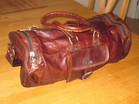 Small leather bag from Middle East. Never used.