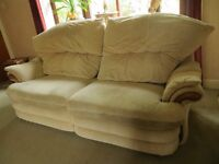 2 Piece, 3 Seater and Chair, Contemporary Recliner Suite