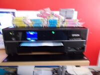 Epson Stylus PW730WD + 3 Full Sets of INK