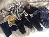 Baby boy clothes age range 0- 2 years