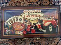Las Vegas Poker Set.