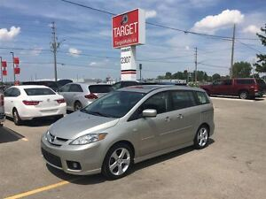 2007 Mazda MAZDA5 GT, Loaded; Alloys, Roof and More !!!!!!