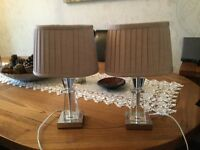 Pair of matching table lights