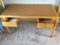 Vintage writing desk/table - retro