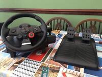 Logitech Driver Force GT - Steering Wheel