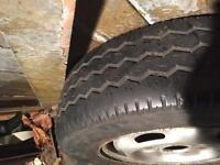 Ford transit van wheel ans tyre