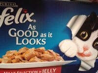 Felix Cat Food Pouches