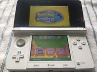 Nintendo 3DS console and games Pokemon Mario