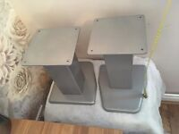 SPEAKER STANDS / 1 STONE EACH! / BOUGHT FROM SUPERFI / GOOD CONDITION